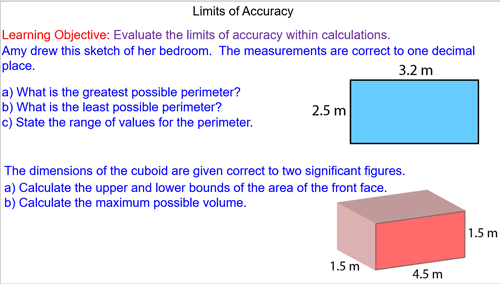 Calculations with Limits of Accuracy Plenary