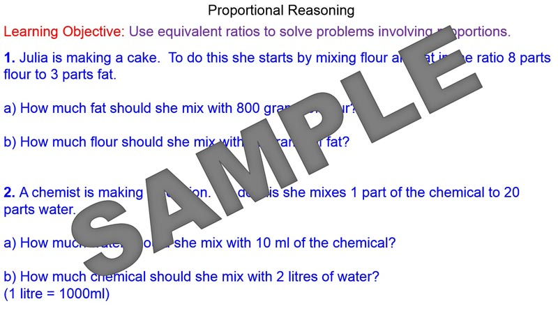 Proportional Reasoning Worksheets Katinabags – Proportional Reasoning Worksheets