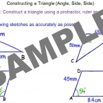 Constructions – Side, Angle, Side Main