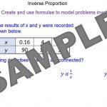 Modelling Inverse Proportion