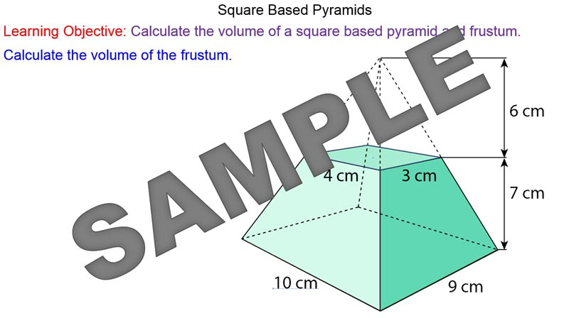 how to find the volume of a pyramid