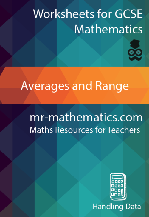 Averages & Range eBook