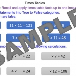 Problem Solving with Time Tables