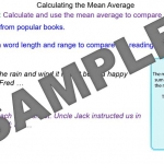 How to Calculate the Mean Average