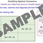 Simplifying Expressions by Collecting Like Terms