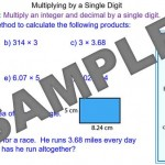 Multiplication with Decimal Numbers