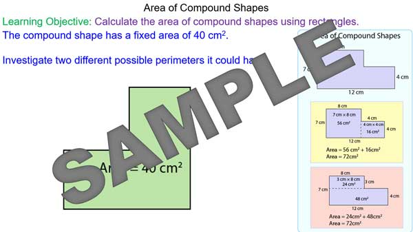 area of composite shapes pdf