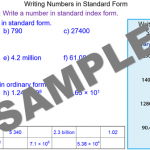Large Numbers in Standard Form