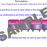 Permutations of Two Events
