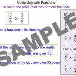Multiplying with Fractions