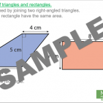 Area of Triangles and Composite Shapes