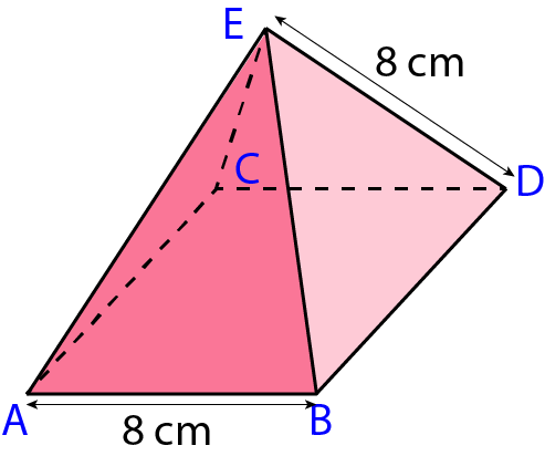 Pythagoras Theorem in 3D Shapes