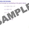 Rearranging Formulae