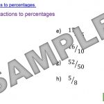 Writing Percentages