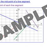 Gradient of Straight Line Graphs
