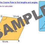 Trigonometry – Area of Triangles