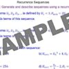 Recurrence Formulae