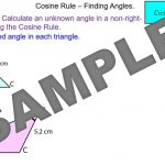 Cosine Rule – Finding Angles