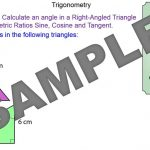 Trigonometry – Angles in Right-Angled Triangles