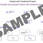 Indices with Fractional Powers