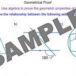 Geometrical Proof