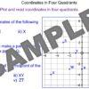 Coordinates in all Four Quadrants