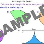 Arc Length of Sectors