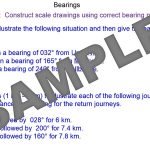 Bearings and Scale Drawings