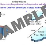 Similar Shapes Calculations