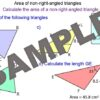 Trigonometry – Area of Triangles