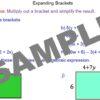 Expanding Algebraic Expressions