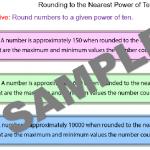 Rounding to the Nearest Power of Ten
