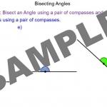 Constructing Angle Bisectors Main