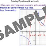 Solving Cubic and Reciprocal Equations Graphically