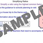Simplifying Ratios