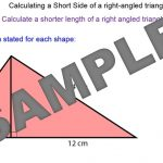 Pythagoras' Theorem – Shorter Sides