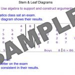 Stem & Leaf Diagrams