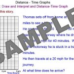 Distance Vs Time Graphs
