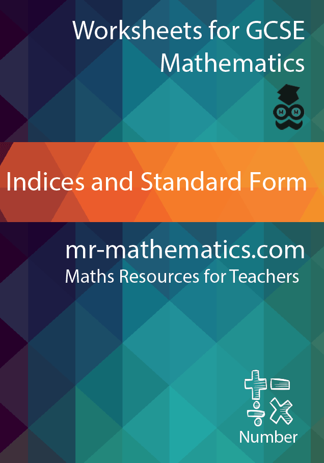 Indices And Standard Form Ebook Mr Mathematics