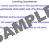 Properties of Quadrilaterals