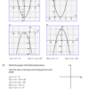 Sketching Quadratic Graphs