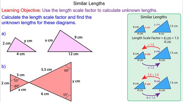 Similar lengths