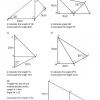 Trigonometry – Problems with Right-Angled Triangles