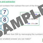 Problem Solving with Number