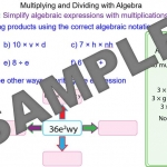 Multiplying and dividing with algebra