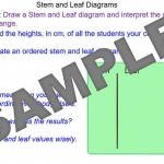 Drawing Stem and Leaf Diagrams