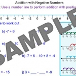 Addition with Negative Numbers