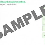 Multiplying with Negative Numbers