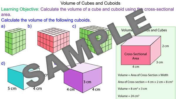Volume Of Cubes And Cuboids Mrmathematics. Volume Of Cubes And Cuboids. Worksheet. Worksheet On Volume By Cross Sections At Mspartners.co