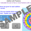 Adding Fractions using a Fraction Wall